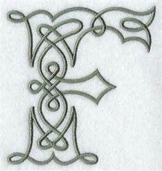 Celtic Letter A Designs