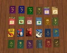 Decat's Sims 2 Creations: Deco Book with 128 TS2, TS3 and TSM Textures