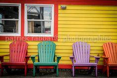 Colourful Adirondack Chairs Photo Fine Art by PatrickRabbatPhotos