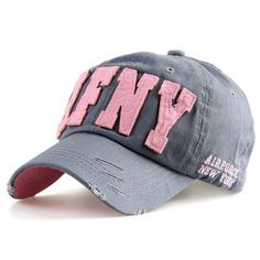 1b7538e5f4a Fashion Cotton Snapback Baseball Cap Female Hats For Women Girls NYC and  AFNY Casquette Sport Casual