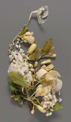 Floral spray for wedding dress | Museum of Fine Arts, Boston