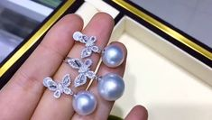 Pearl Jewelry, Gold Jewelry, Jewlery, Pearl Earrings, Pendant Set, Pearl Pendant, Mikimoto Pearls, South Sea Pearls, Ear Rings