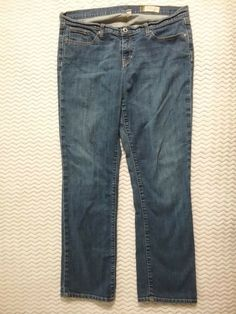 257207cf0db Gap Womens Size 14 Jeans Regular Straight Stretch #fashion #clothing #shoes  #accessories #womensclothing #jeans (ebay link)