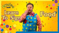 Mr Tumble and Justin Fletcher teach you how to sign different types of food. Makaton Signs, Mr Tumble, George Young, Learn To Sign, British Sign Language, Different Types, Down Syndrome, Types Of Food, Teaching