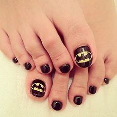 batman #nail #nails #nailart