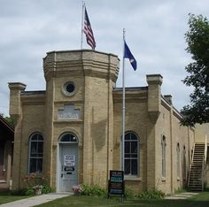 "The Grand Army of the Republic Hall in Litchfield, Minnesota is one of many original and authentic Grand Army of the Republic halls remaining in the United States. Built in 1885 for the Frank Daggett GAR Post No. 35, it is one of 4 remaining GAR halls in Minnesota. The Meeker County Historical Society Museum building was added to the rear of it in 1960, but the Hall was left exactly as it was when the ""Boys of '61"", as they called themselves, met there seventy-five years earlier in 1885."
