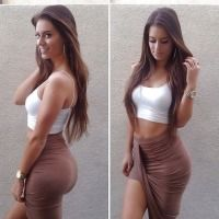 Is this the perfect body? Perfect Body, Pretty Girls, Sexy Women, Cute Outfits, Two Piece Skirt Set, Bodycon Dress, Tank Tops, Stylish, My Style
