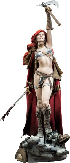 Red Sonja Red Sonja Premium Format(TM) Figure by Sideshow Co | Sideshow Collectibles