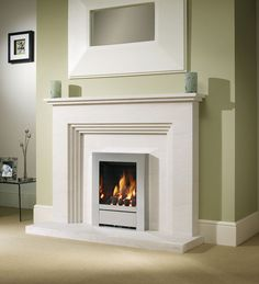 Othello Limestone Fireplace, From Be Modern