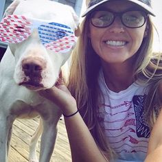 Rhino and his momma celebrating the Fourth of July last year. Follow @bnglossy44 for updates.