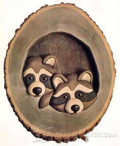 The Knothole Gang - Intarsia Projects - Intarsia Projects, Tips and Techniques | WoodArchivist.com