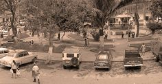Parque santander 1965 — en municipio de caldas antioquia. publicada por Luis Maria Usma