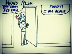 """32 Likes, 3 Comments - Sneha Sinha (@snehasinha2129) on Instagram: """"#Headrush #comics #homealone #everysingletime #thisisme #staytuned Tag yourself if it happened…"""""""