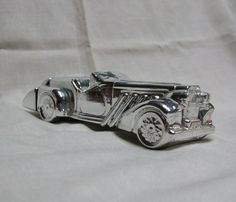 Avon Silver Duesenberg Car Decanter Bottle by trudysattic on Etsy, $6.00