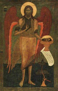 Иоанн Предтеча Ангел пустыни. 1560-е гг.