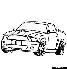 the 69 best mustang stuff images on pinterest ford mustangs 05 Mustang Accessories cars acura tsx sport coloring page acura car coloring pages race car coloring pages