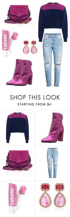 """Purple velvet dress set"" by shreyaroy994 ❤ liked on Polyvore featuring M Missoni, Just Cavalli, Rebecca Minkoff and Dana Rebecca Designs"