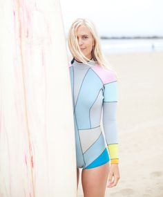 annie mcelwain, cynthia rowley wetsuit