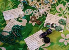 What a fabulous collection of beads! Thank you, Natalie. Soup, Gift Wrapping, Make It Yourself, Beads, Party, Blog, How To Make, Collection, Gift Wrapping Paper