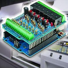 Arduino as a programmable logic controller (PLC) | Open Electronics