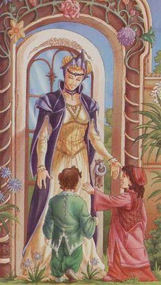 3 - III - Imperatrice - Empress - madre celeste o natura o grano - tarocchi - tarot of the 78 doors - platano - alligo The Magician Tarot, The Moon Tarot, Dylan Dog, Online Tarot, Tarot Major Arcana, Tarot Card Decks, The Empress, Oracle Cards, Archetypes