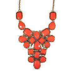 #jewelry #necklace #maxicolar #colar #orange #fashion #acessorios