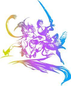 Final Fantasy logo by on DeviantArt Final Fantasy X, Final Fantasy Tattoo, Final Fantasy Characters, Final Fantasy Artwork, Fantasy Series, Yoshitaka Amano, Video Game Art, Video Games, 2 Logo