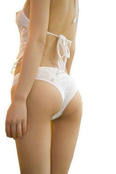 Blancho SE-230-WHITE Stylish Sexy Lace HotLingerie - White - Medium