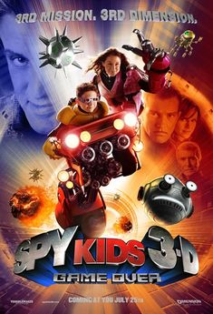 Spy Kids 3-D: Game Over (2003) cast and crew credits, including actors, actresses, directors, writers and more.
