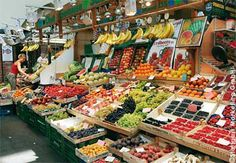 Stuttgart Market Hall--open every Tuesday, Thursday and Saturday with 38 stalls on the main level