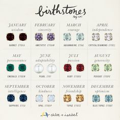 Shop the 'Birthstones by c+i' collection on my boutique today! www.chloeandisabel.com/boutique/jennifersercia