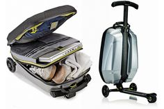 Samsonite Suitcase Scooter - Luggage That Moves You!