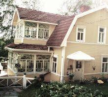 Terijoki -huvila. Terijoki Villa. Balcony Railing, Beach House, Villa, Outdoor Decor, Railings, Houses, Home Decor, Google, Beach Homes