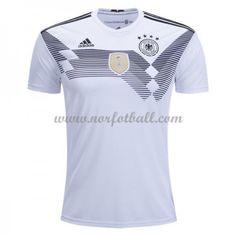 Tyskland 2018 Landslagsdrakt Kortermet Hjemme Fotballdrakter Vm, Mens Tops, T Shirt, Soccer, Design, Style, T Shirt Store, Germany, Trapper Keeper
