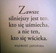 Stylowi.pl - Odkrywaj, kolekcjonuj, kupuj The Words, Favorite Quotes, Best Quotes, Life Quotes, Motto, Plus Belle Citation, Motivational Quotes, Inspirational Quotes, Good Sentences
