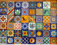 Fantastiche immagini su piastrelle messicane nel