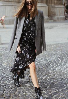 Erdem x H&M blazer + floral dress