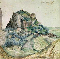 Albrecht Dürer - View of the Arco Valley in the Tyrol, 1495