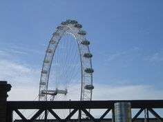 London Eye London Eye, Ferris Wheel, Fair Grounds, Travel, Viajes, Destinations, Traveling, Trips