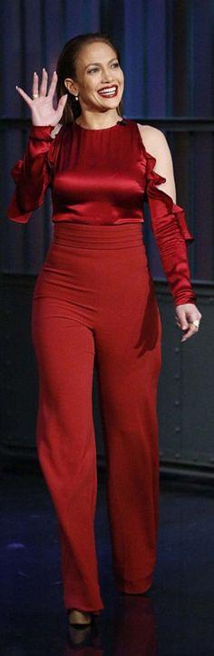 Jennifer Lopez wearing Cushnie Et Ochs
