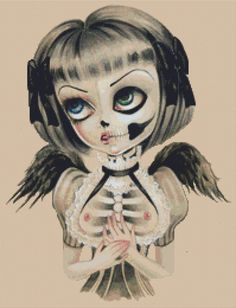 Modern Cross Stitch Kit ' Set Me Free ' By Simona by GeckoRouge