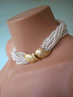 Great Gatsby Jewelry Wedding Jewelry Pearl by CrystalPearlJewelry, $82.00