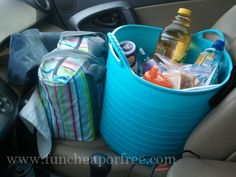 How to survive a 12 hour road trip with a baby & a toddler.