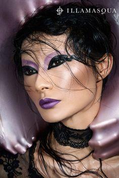 Makeup Brand: Illamasqua.  Collection:  PARANORMAL.  Creative Director:  Alex Box, MUA.