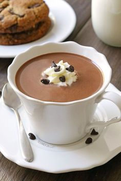 The Ultimate Hot Chocolate by @texanerin