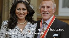 I feared for Bruce's life after fall, says wife Wilnelia...: I feared for Bruce's life after fall, says wife Wilnelia… #BruceForsyth