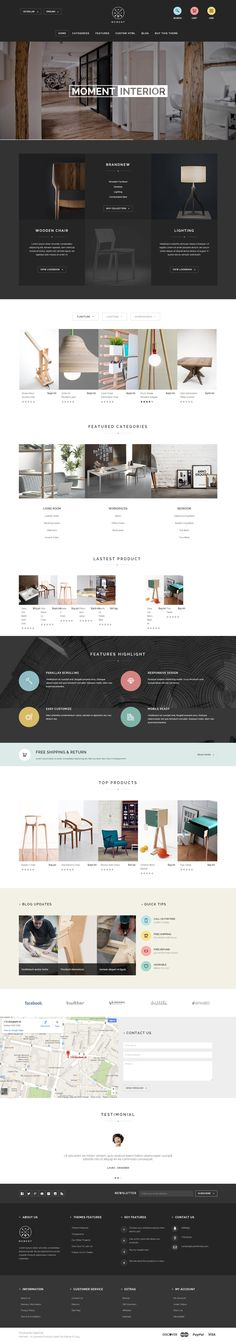 Moment is Premium Responsive OpenCart eCommerce Theme. Bootstrap Framework. Parallax Scrolling. Retina Ready. Google Map. http://www.responsivemiracle.com/cms/moment-premium-responsive-furniture-opencart-theme/