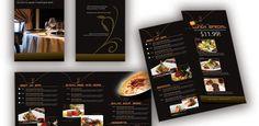 restaurant, pub, bistro menu design