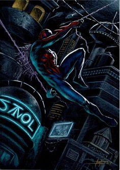Spider Man 2099 by LucaStrati on @DeviantArt