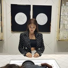 Read white ferrari, - iii from the story Jennie Kim Imagines by dRomeyo (LOS̶ER) with reads. School Looks, Blackpink Jennie, South Korean Girls, Korean Girl Groups, Rapper, Blackpink Members, Look Girl, Blackpink Fashion, Chanel